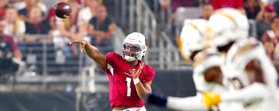 NFL rookie QB debuts: How Murray, Jones, Haskins fared