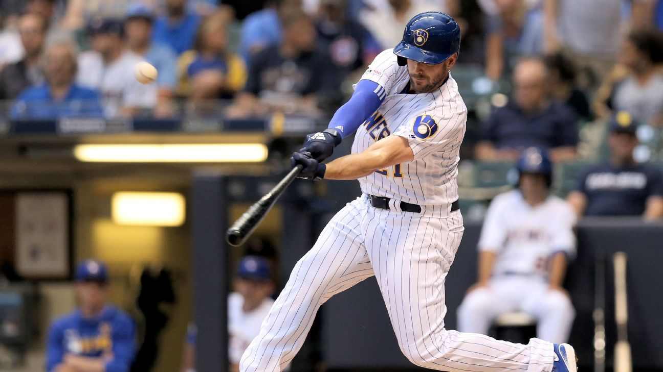 Brewers demote Shaw again; Yelich remains out