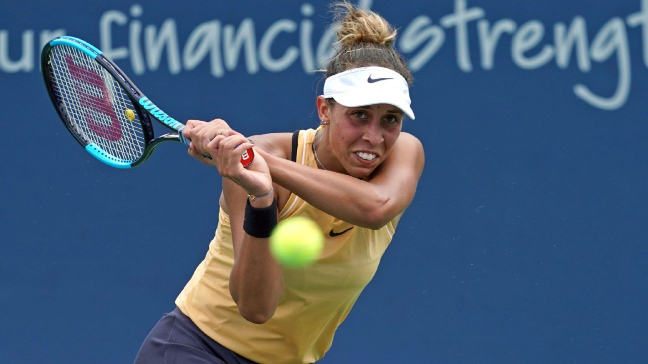 Keys rallies past Kuznetsova for Cincinnati title