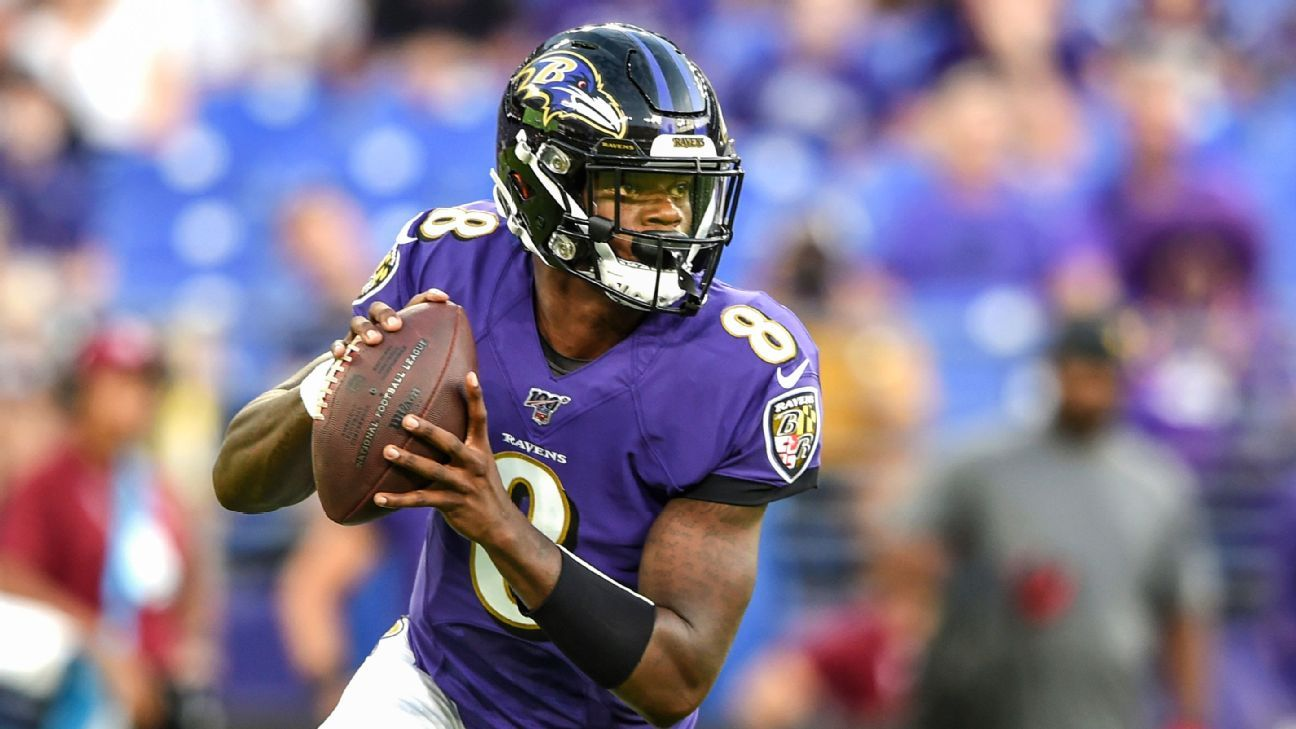 info for 5d3a7 0e1a0 Baltimore Ravens 2019 NFL preview Lamar Jackson's next ...