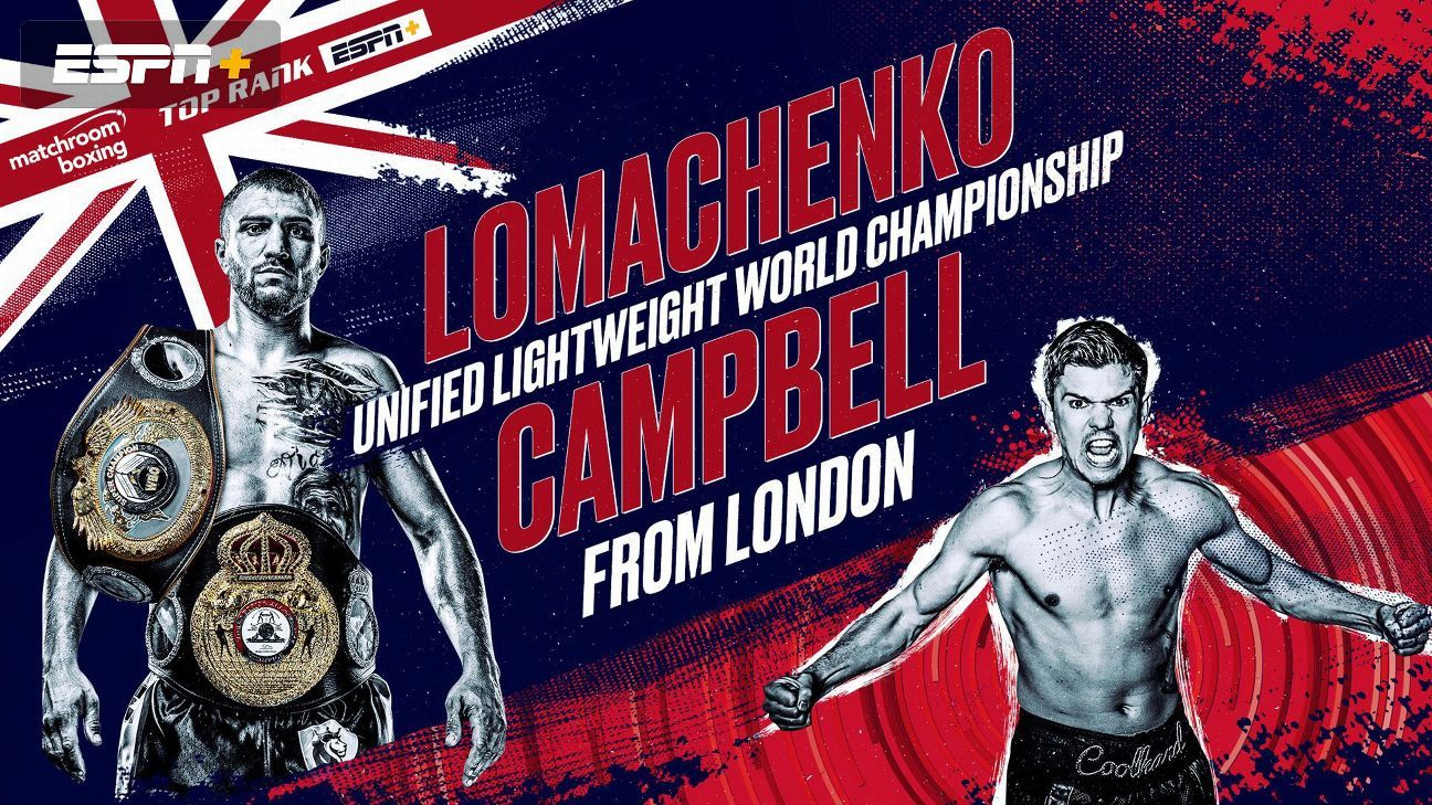 Image result for lomachenko vs. campbell poster