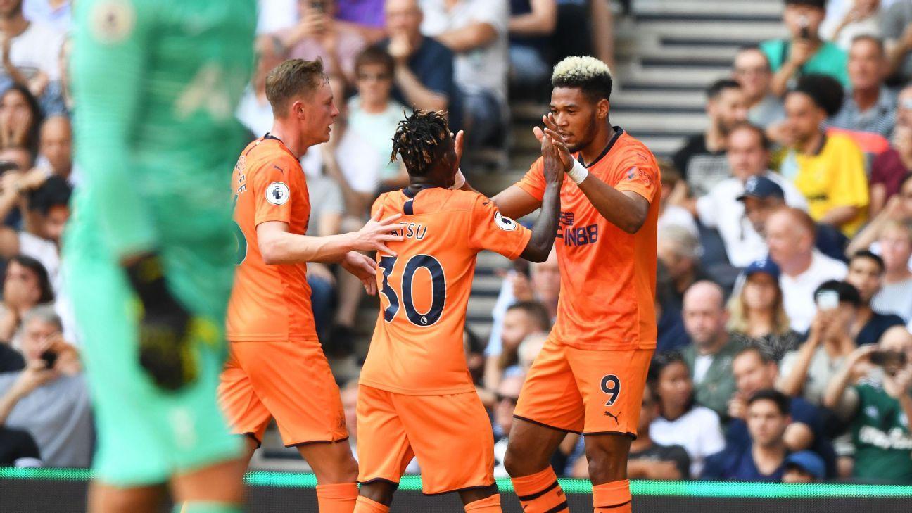 Newcastle shock Spurs on Joelinton's goal