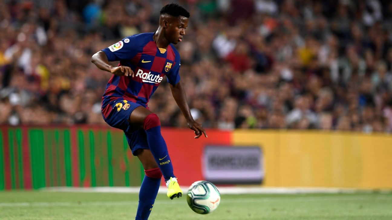 Barca's 16-year-old youngest since '41 to debut