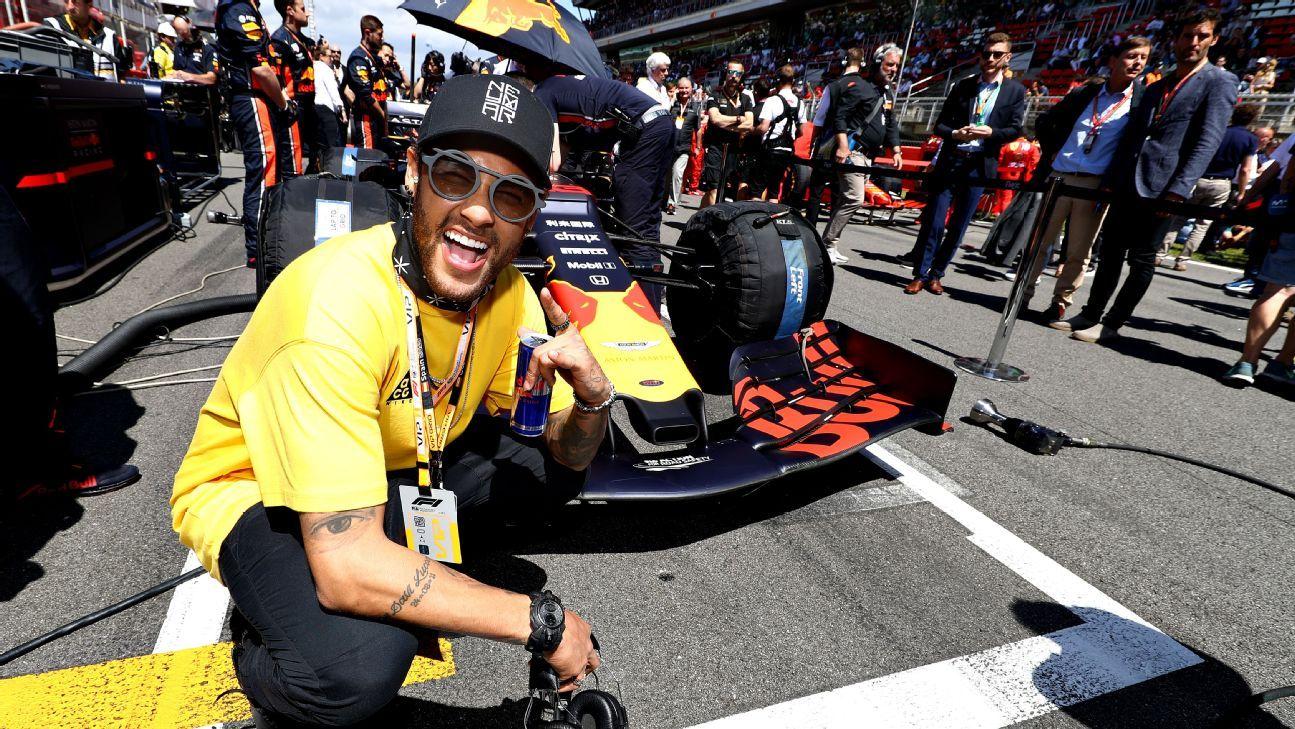Neymar releases F1-themed football boot