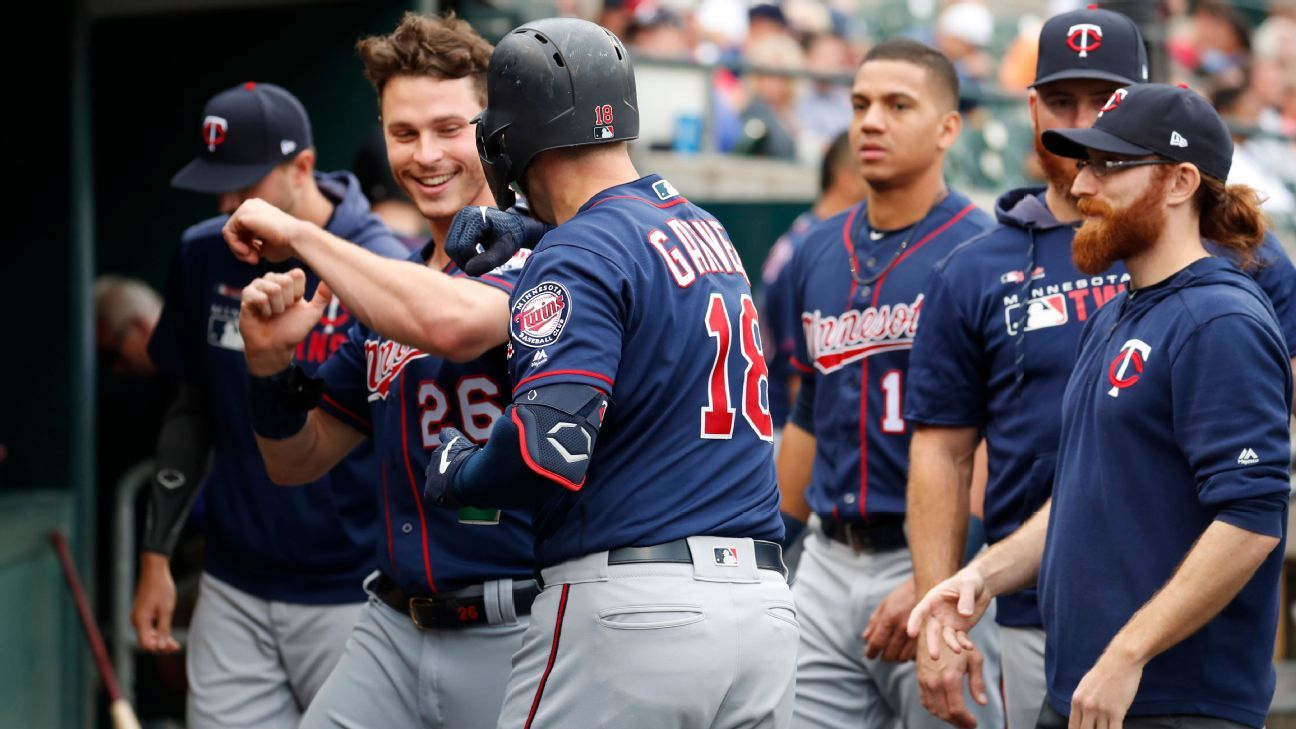Twins break MLB record with 268th HR of season