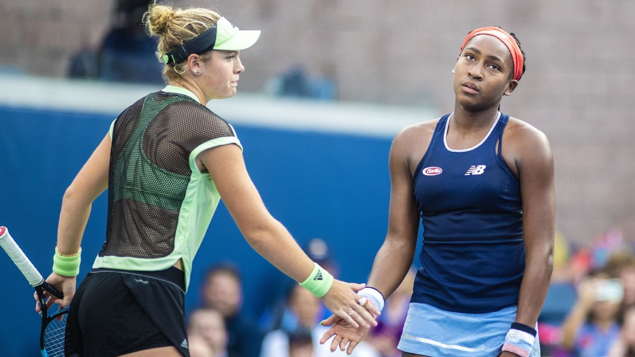 'McCoco's' run at US Open ends with doubles loss