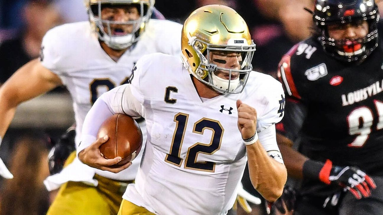 Notre Dame's playoff odds would skyrocket with a win over Georgia