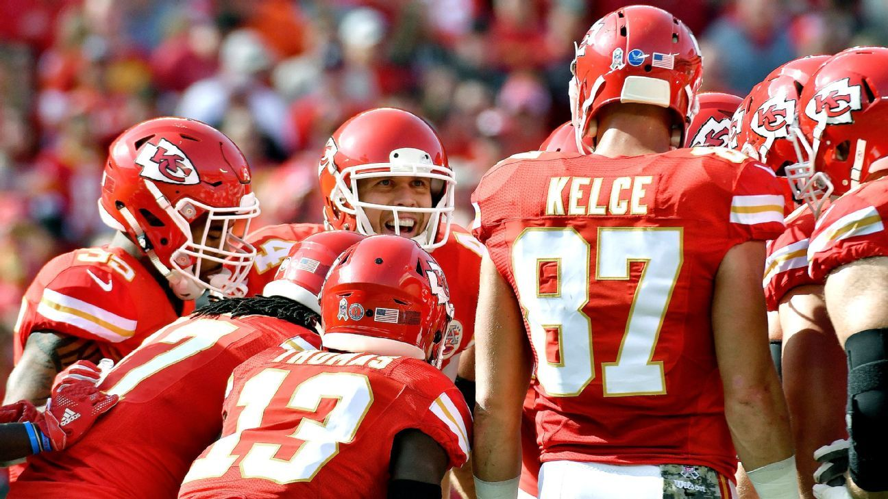 Nick Foles lost his love for football; the Chiefs helped him find it