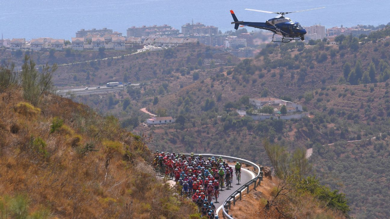 Vuelta helicopter camera leads to cannabis raid