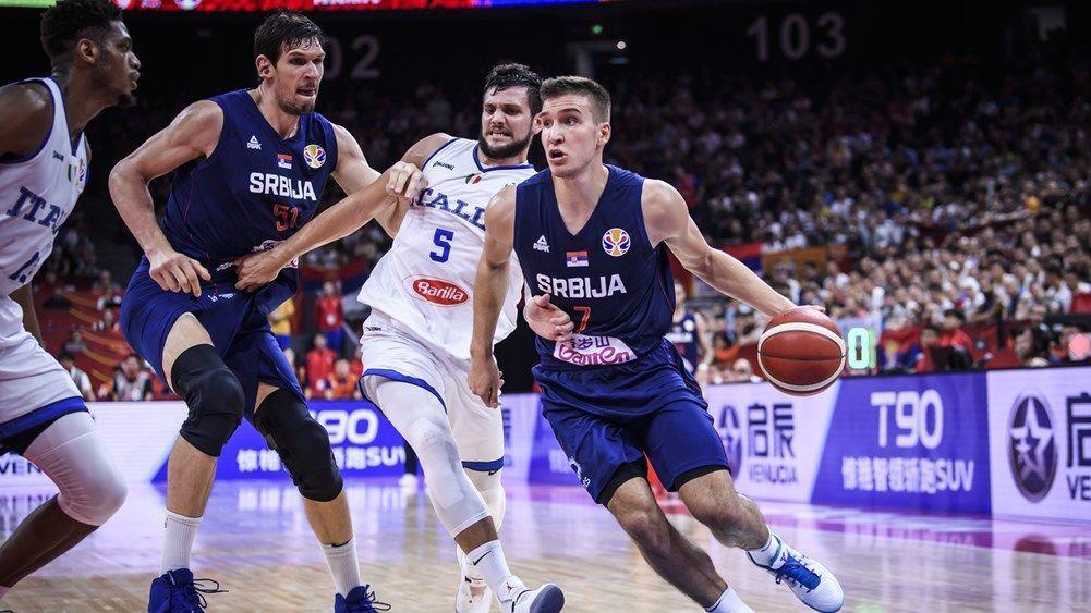 Bogdanovic hits 31 as Serbia runs past Italy