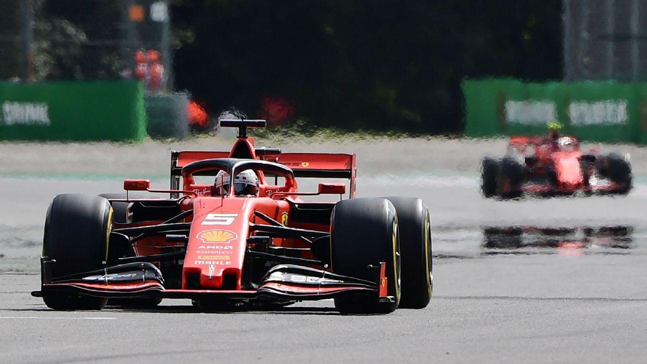 Vettel frustrated with Ferrari's qualifying tactics at Monza