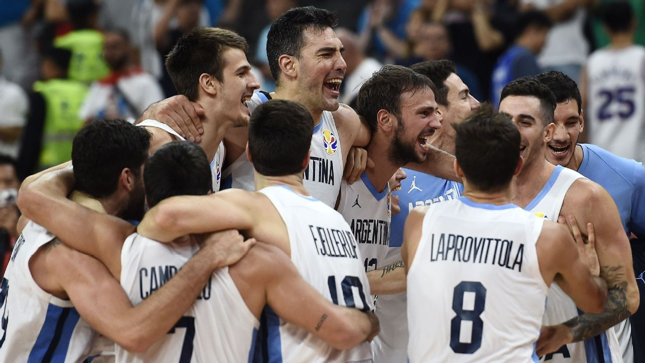 Argentina sinks Serbia; Spain also reaches semis