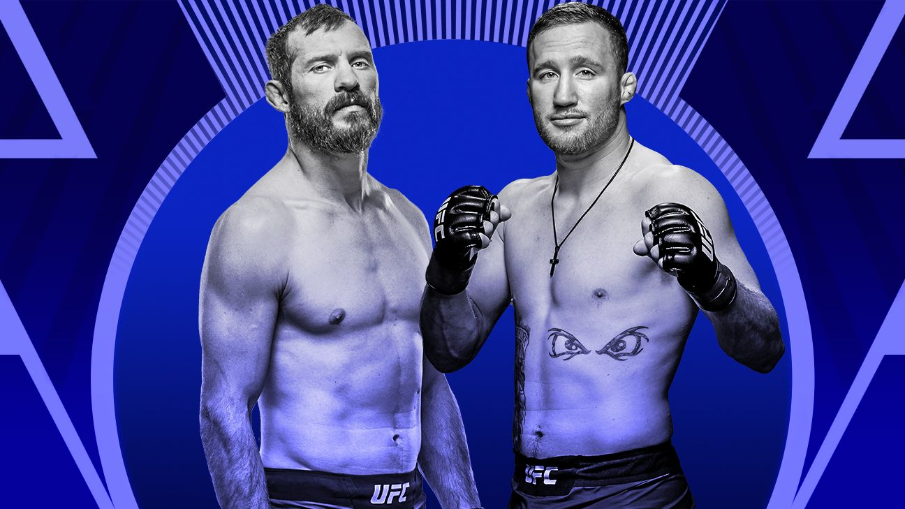 Cerrone, Gaethje make weight for UFC Vancouver