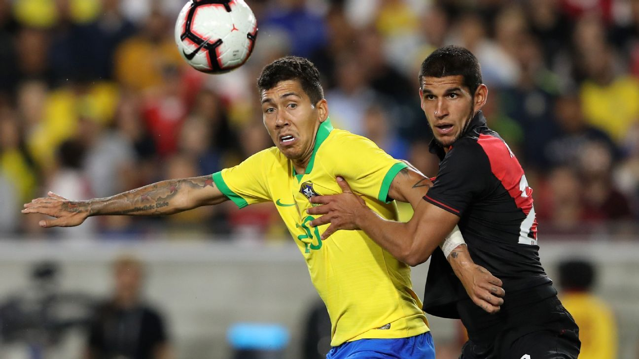 Tite's search for a striker continues as Brazil draw another blank