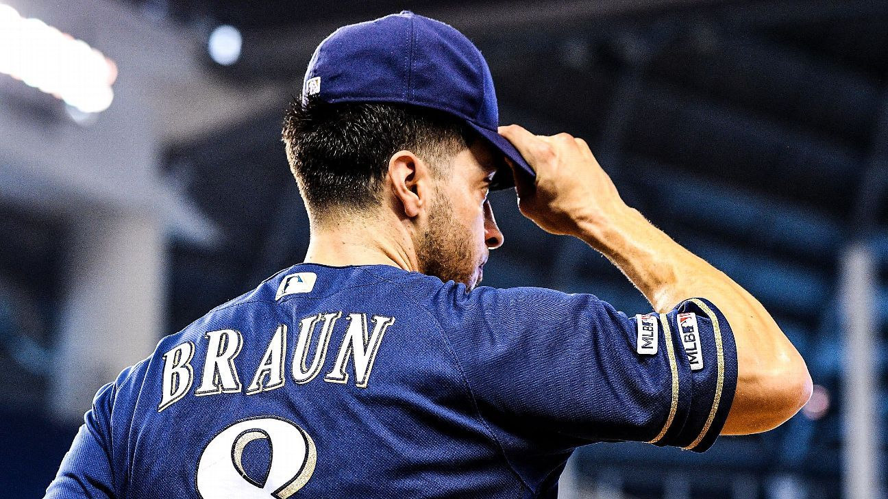 Brewers' Braun says this could be final season