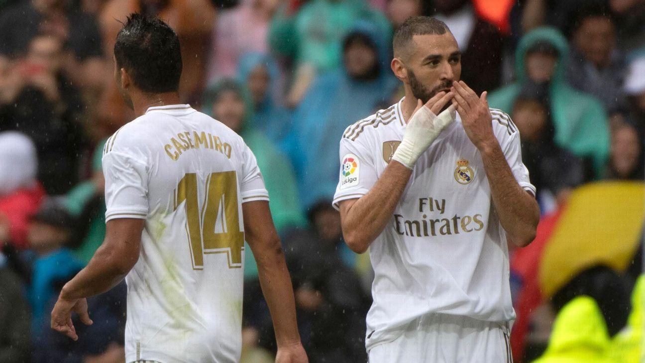 Benzema hands Madrid nervy win vs. Levante