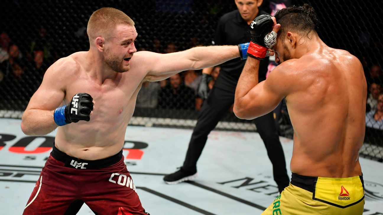 Connelly's upset highlights undercard at UFC Fight Night: Cowboy vs. Gaethje