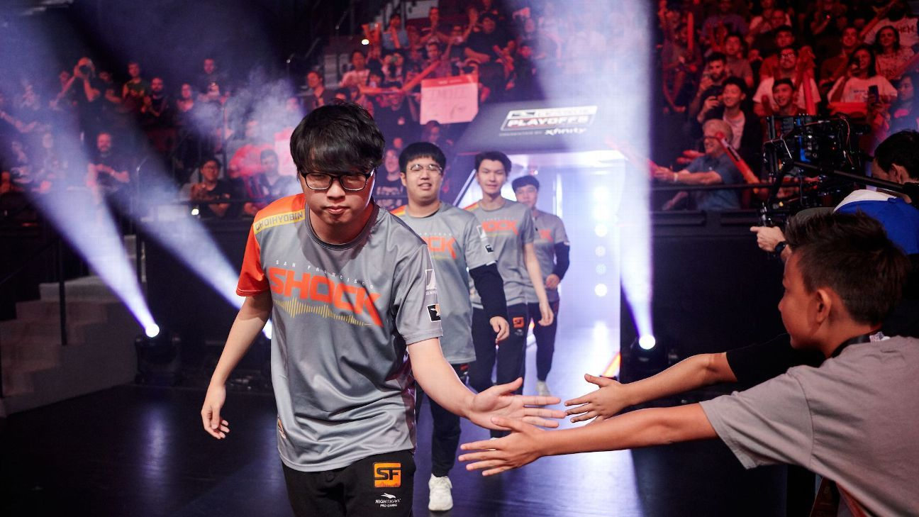 Shock knock out Spark in OWL playoffs