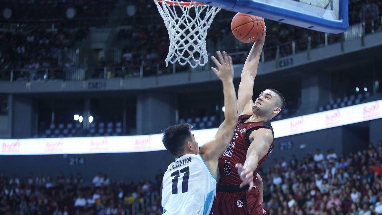 Kobe Paras finally gets opportunity to shine
