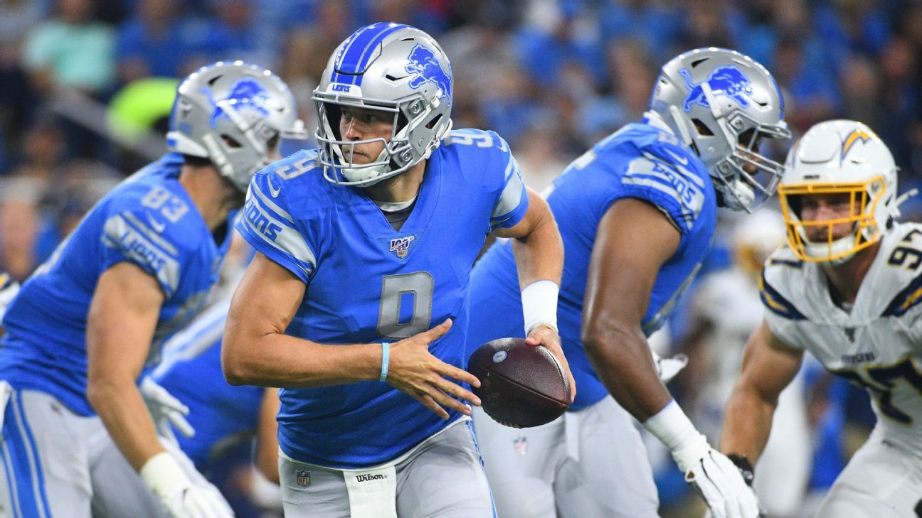 Lions' offense is a work in progress, but the signs are pointing up
