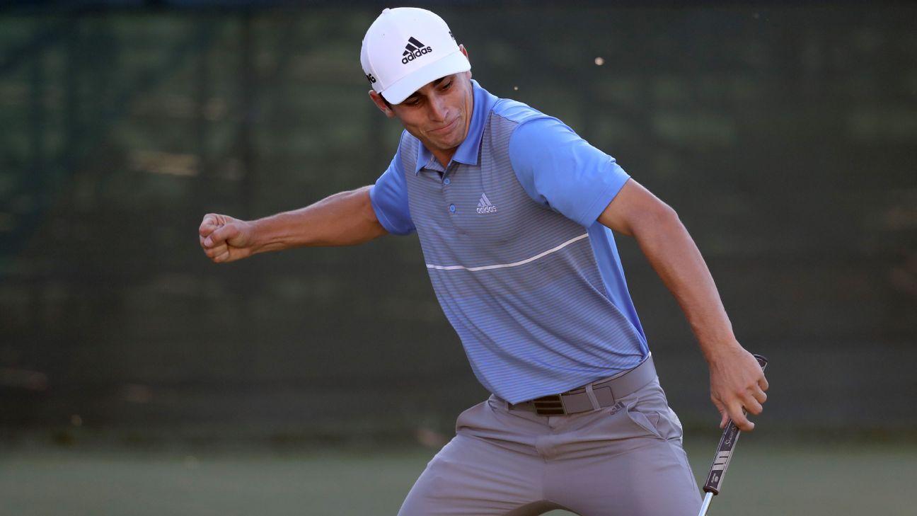 Niemann, 20, first Chilean to win on PGA Tour