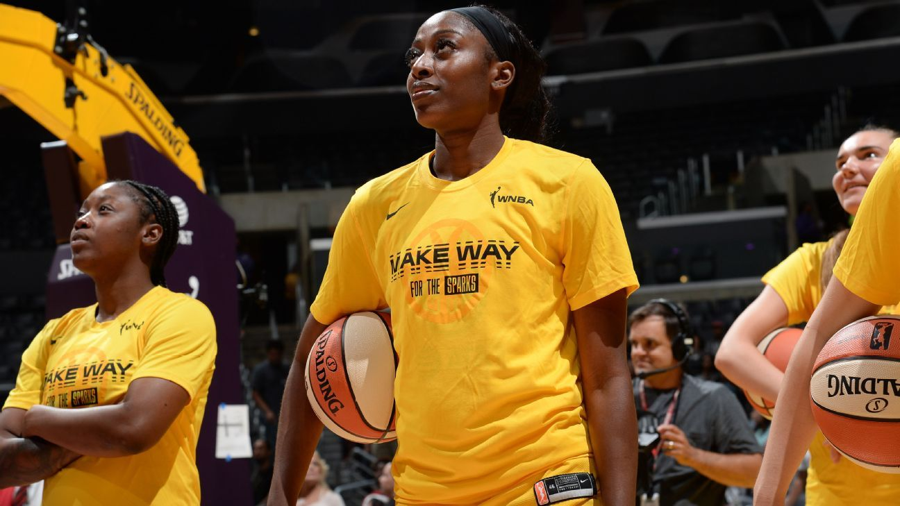 C. Ogwumike praises security after fan incident
