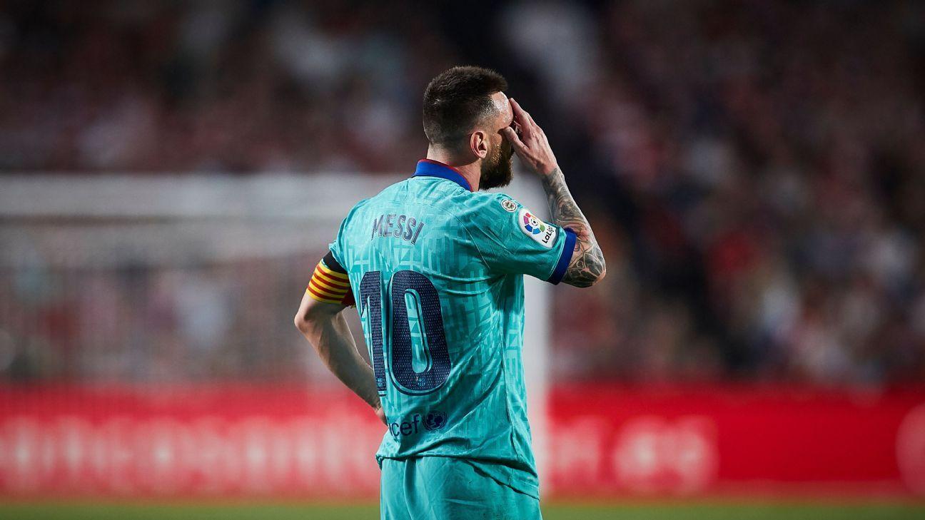 Granada Vs Barcelona Football Match Report September 21 2019 Espn