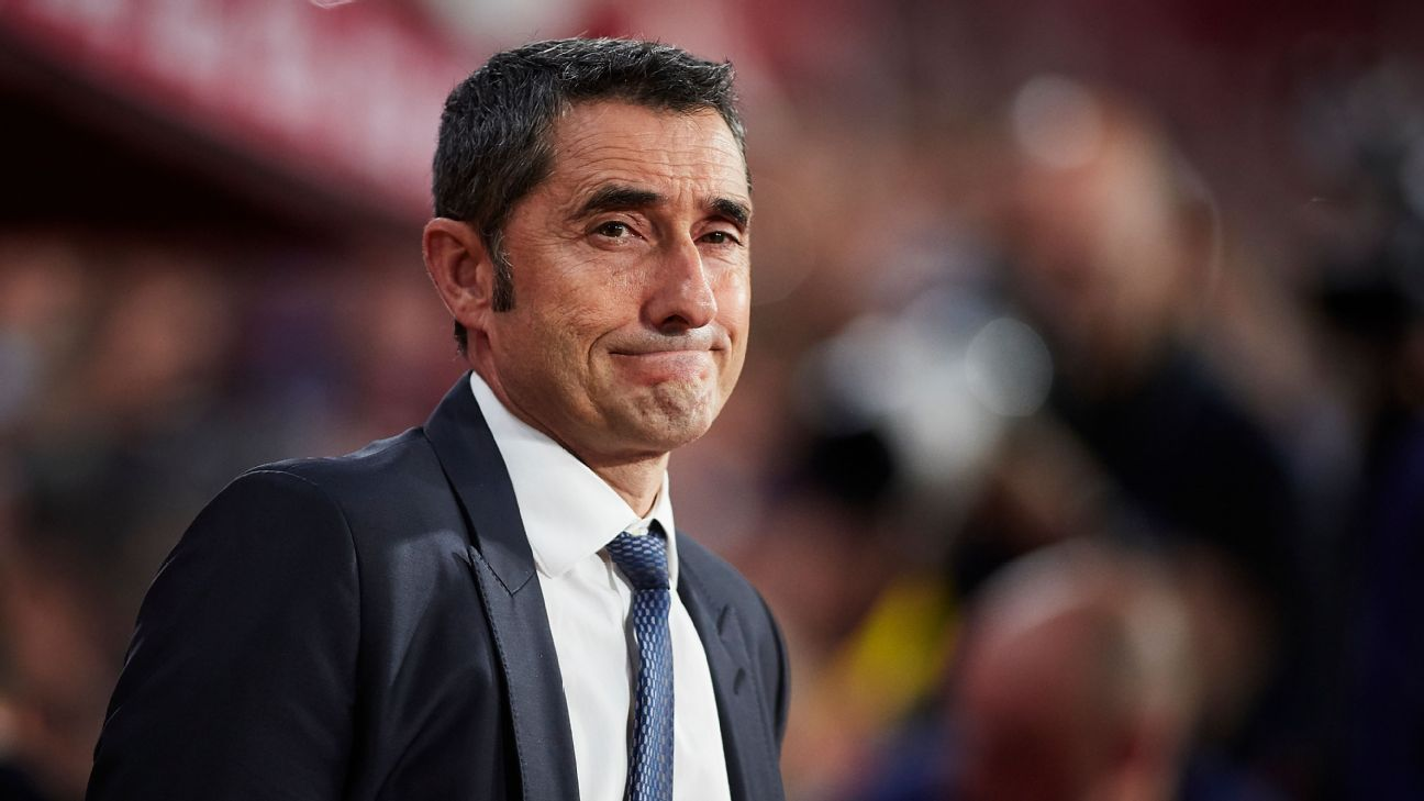 Sources: Barca stars lose confidence in Valverde
