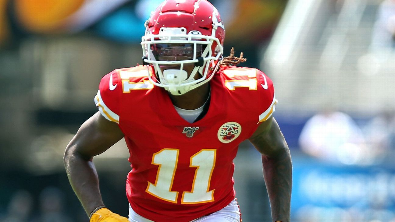 Kansas City Chiefs activate Demarcus Robinson off reserve/COVID-19 list for Super Bowl LV