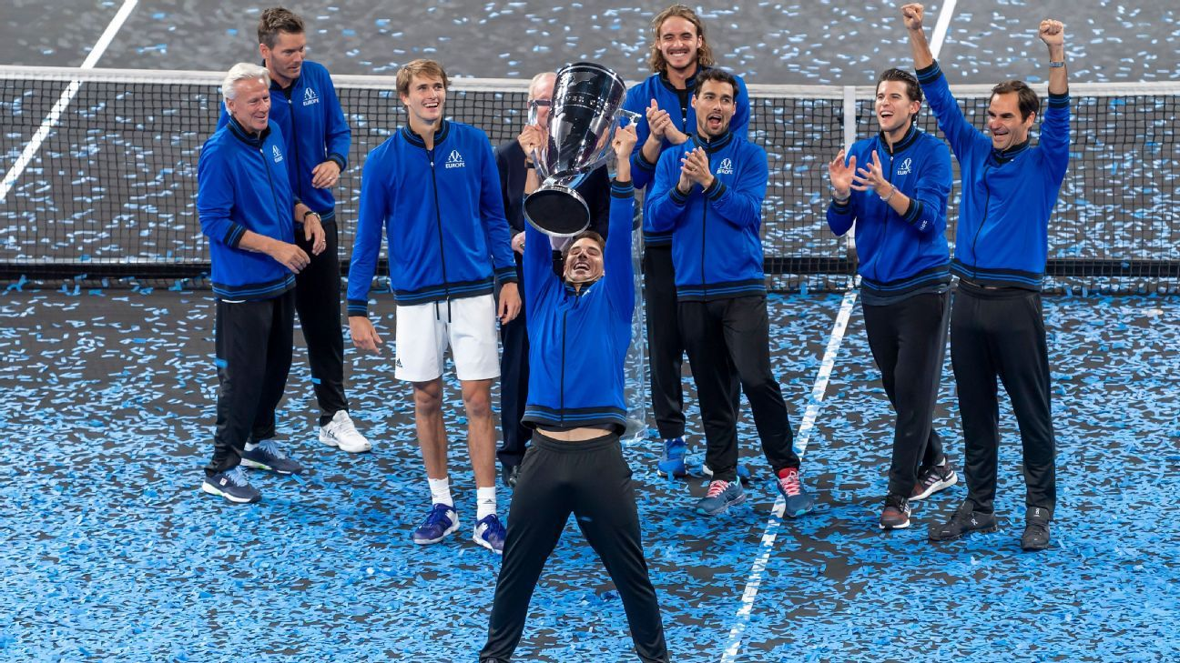 Federer, Zverev win as Europe retains Laver Cup