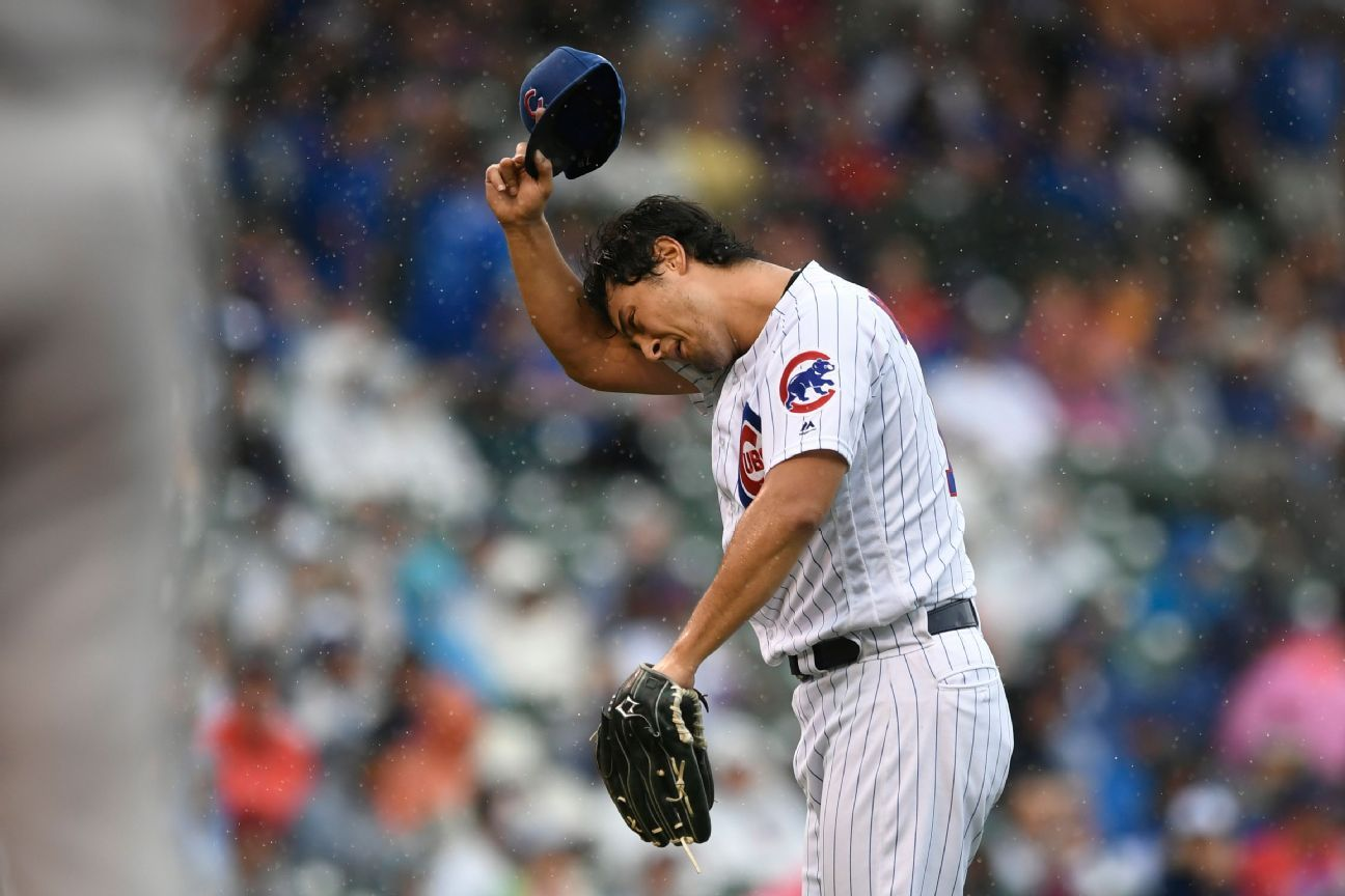 Crumbling Cubs lose 5th straight 1-run game