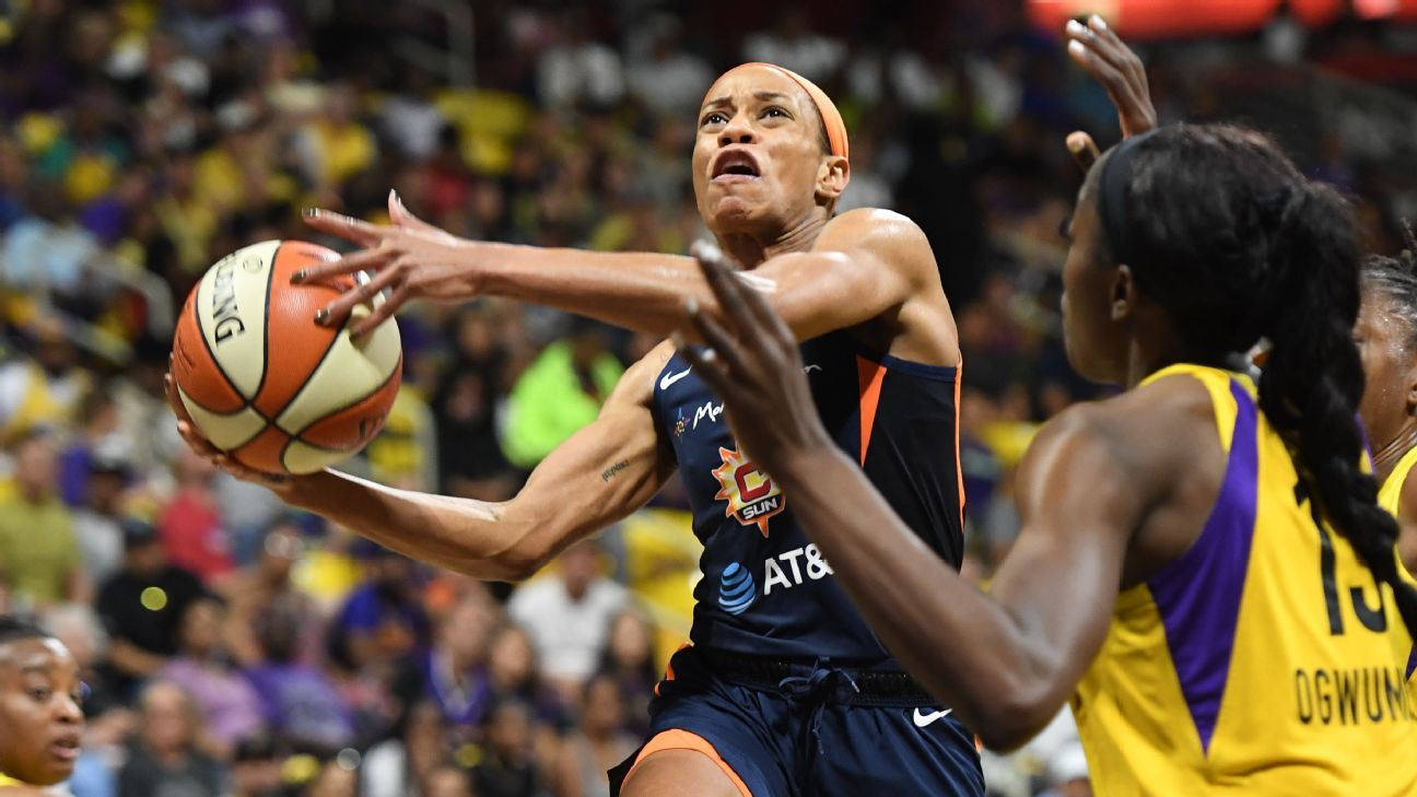 Connecticut sweeps L.A. to reach first WNBA Finals since 2005