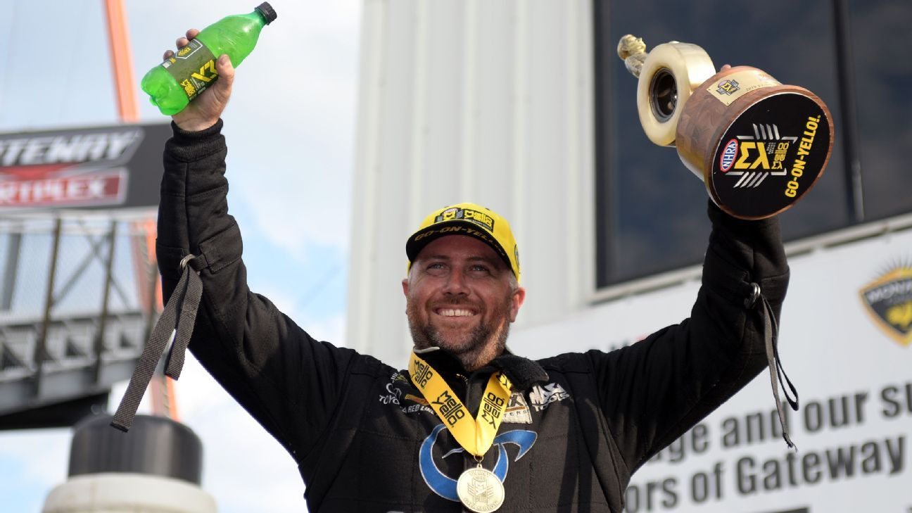 Shawn Langdon races to Funny Car win at NHRA Midwest Nationals