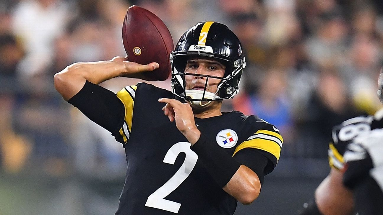 Mike Tomlin: Mason Rudolph still Steelers QB when healthy