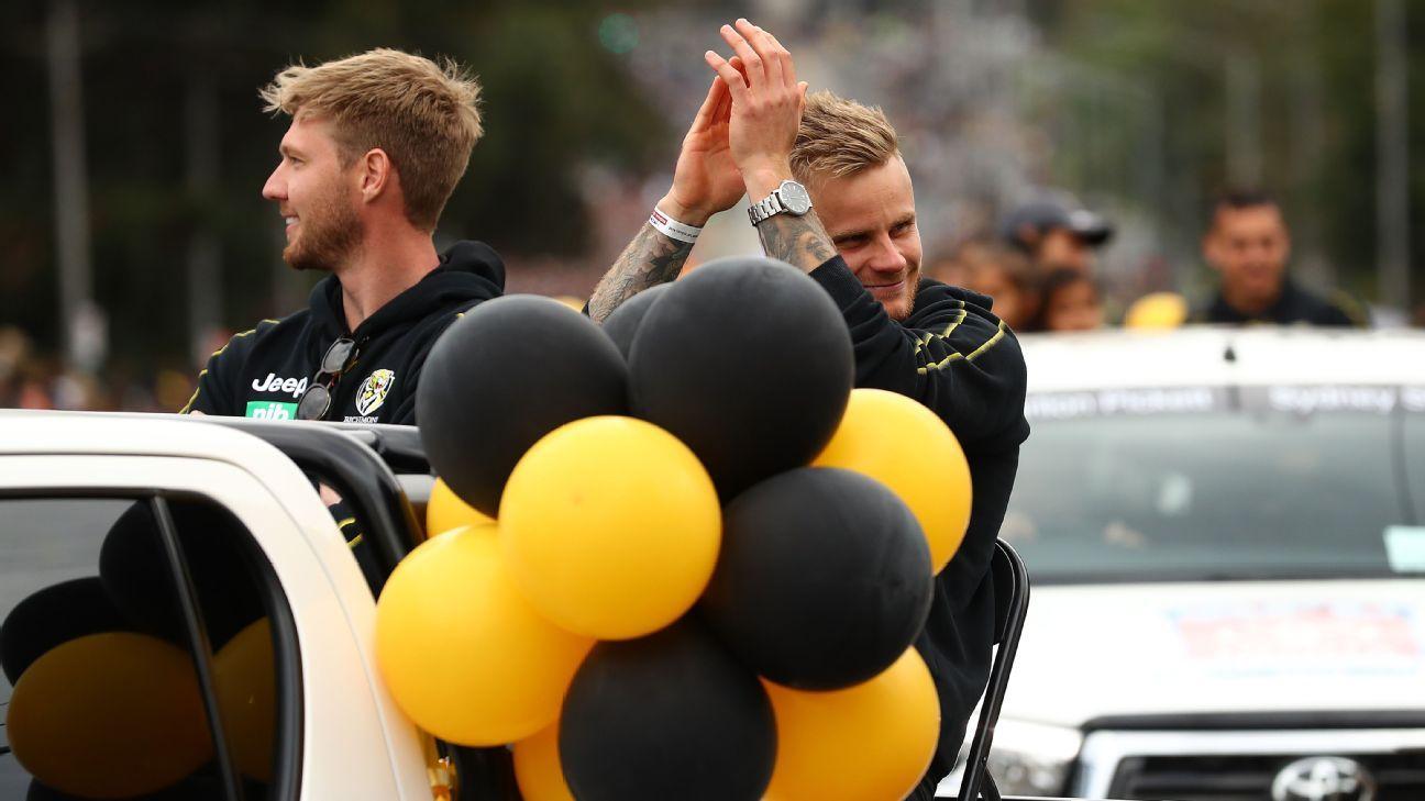 Premiership Tiger Ellis departs Punt Road
