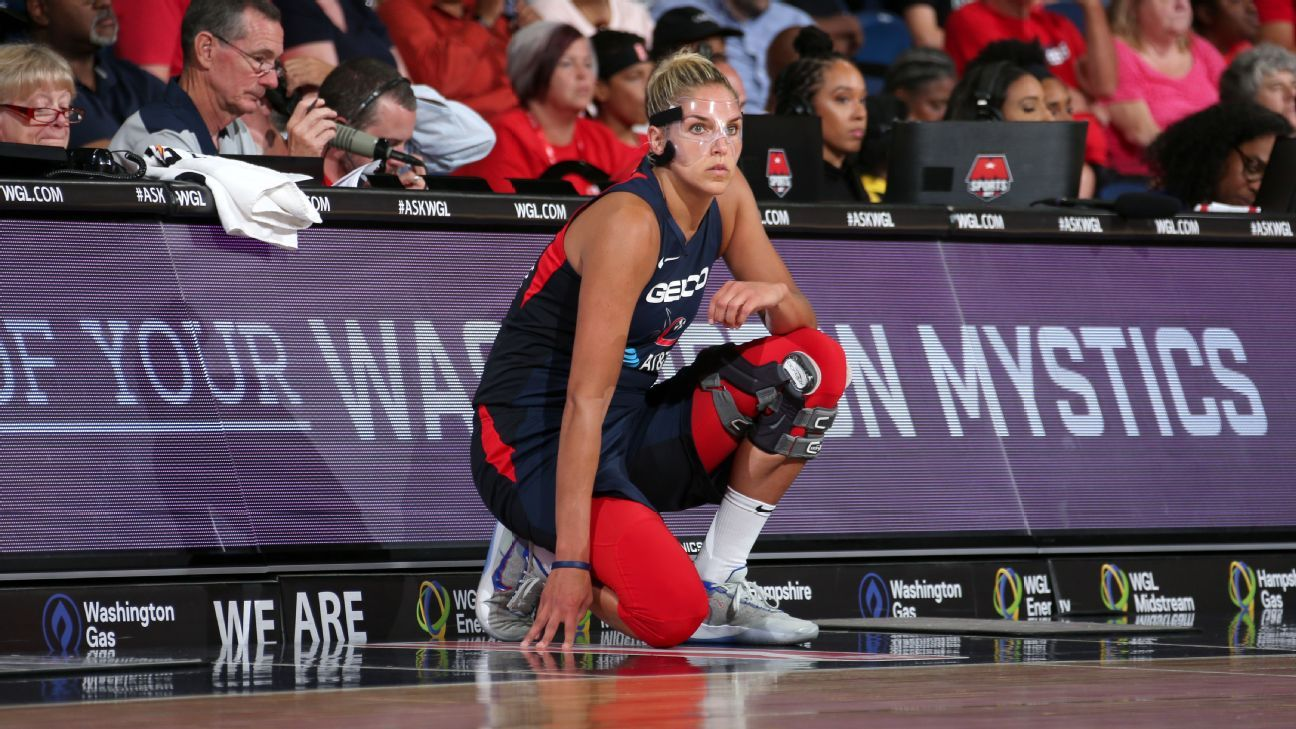 Can the Mystics win Game 3 without Elena Delle Donne?