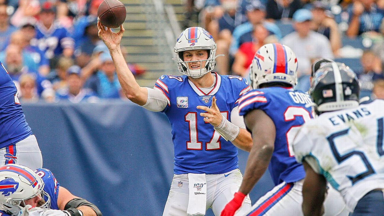 Bills a threat to win AFC East? Favorable schedule boosts their chances
