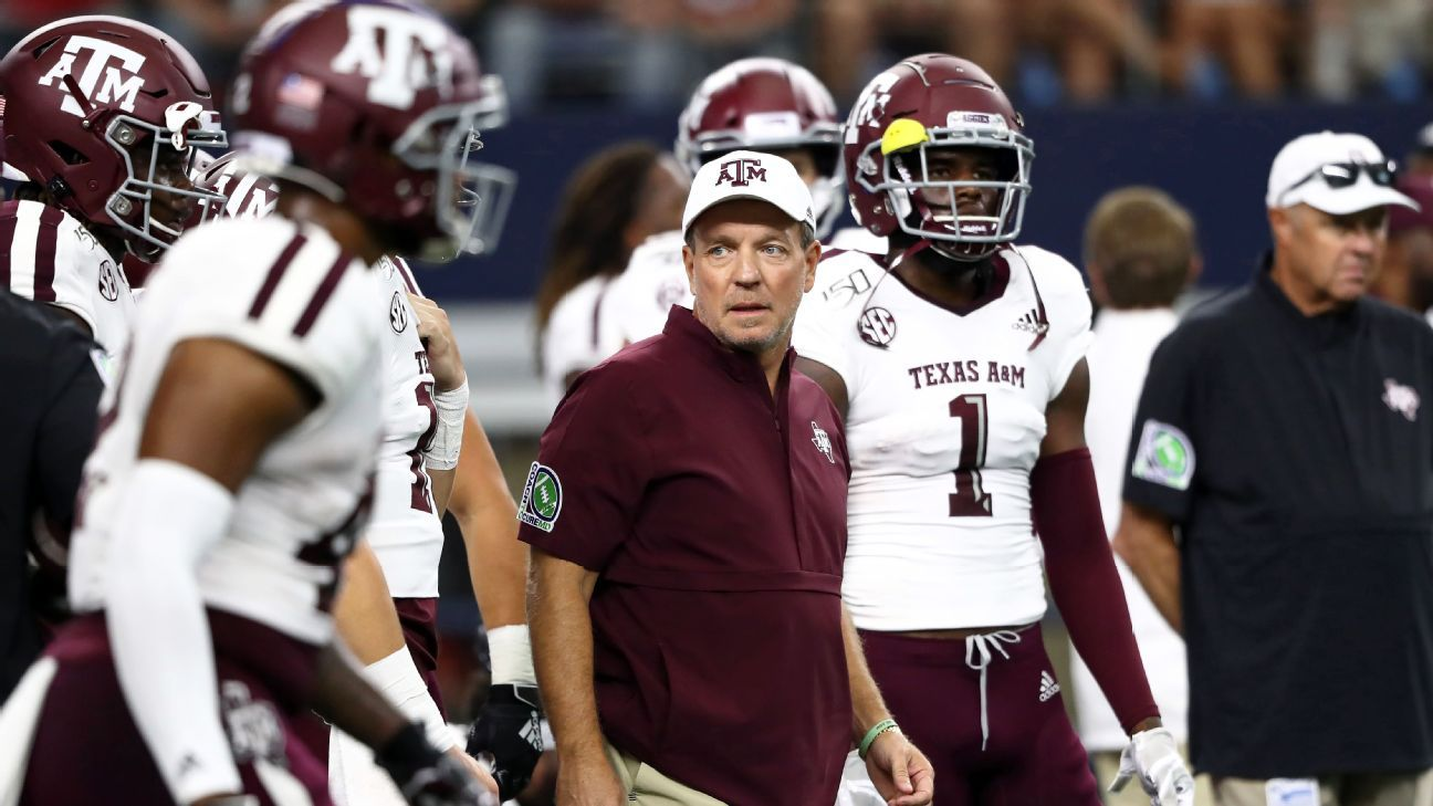 Texas A M Football On One Year Probation Jimbo Fisher Gets Six Month Show Cause Order