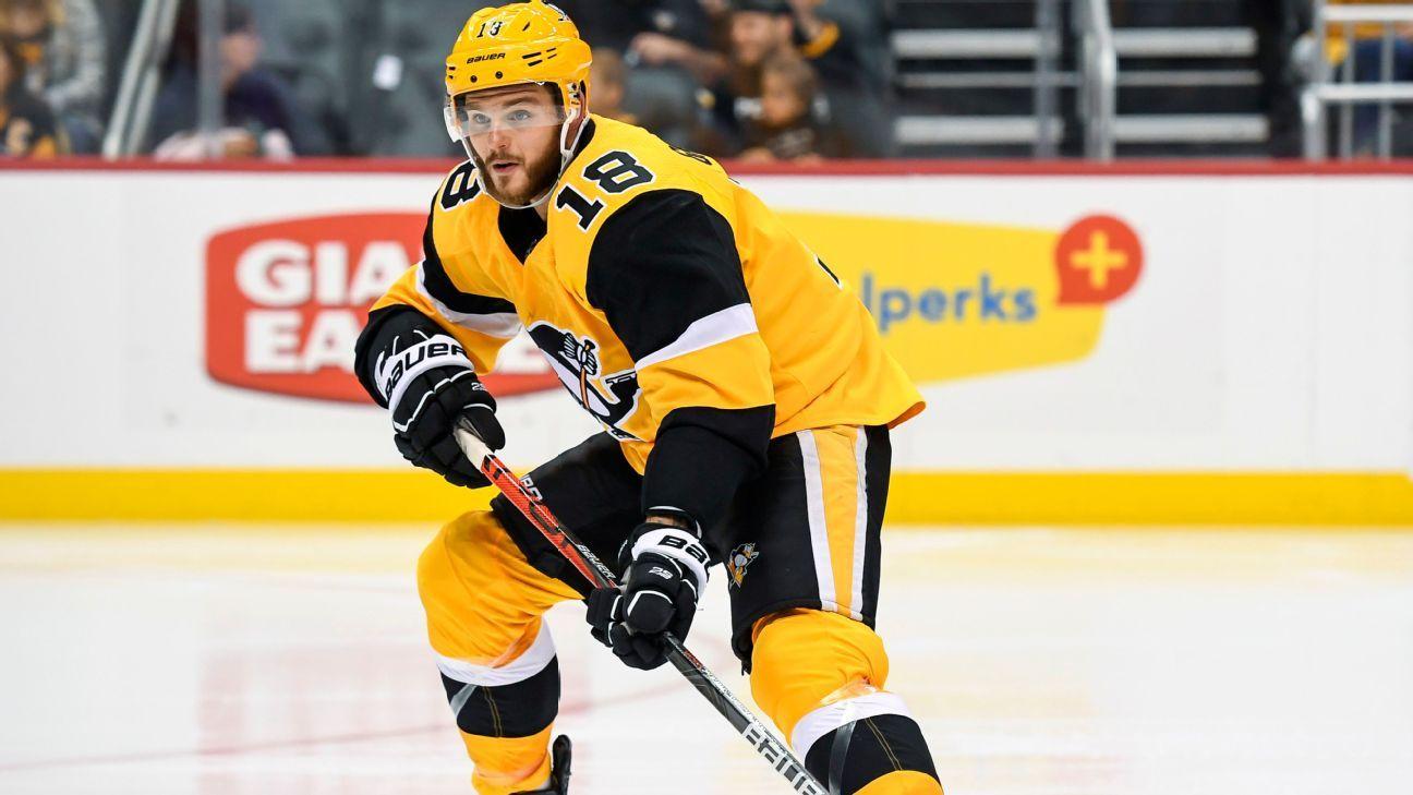 Penguins place Alex Galchenyuk on injured reserve