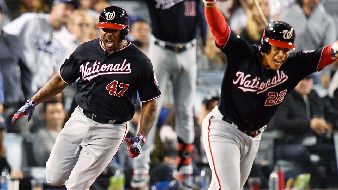 Nationals stun Clayton Kershaw, beat Dodgers to move on to NLCS