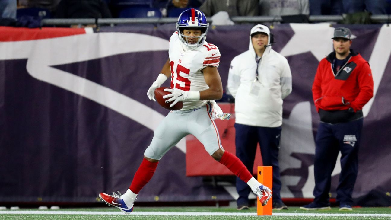 Source - Giants release WR Golden Tate, LB David Mayo in cost-cutting moves - ESPN