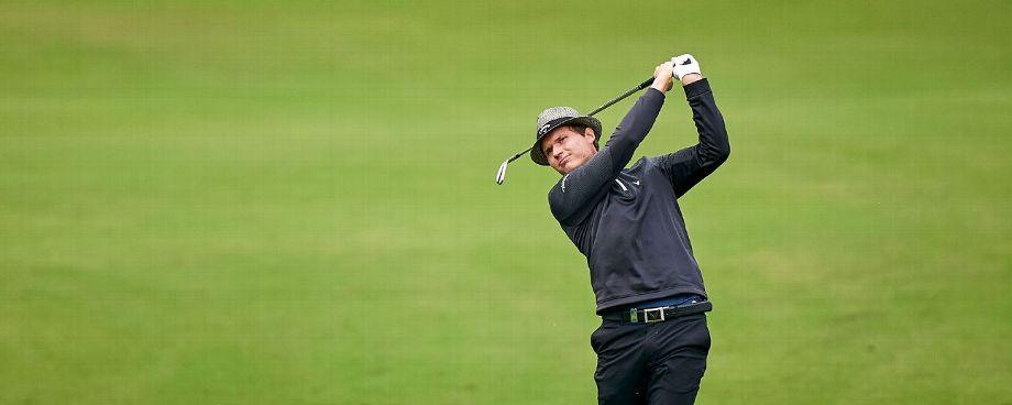 Tapio Pulkkanen takes first round lead at Italian Open