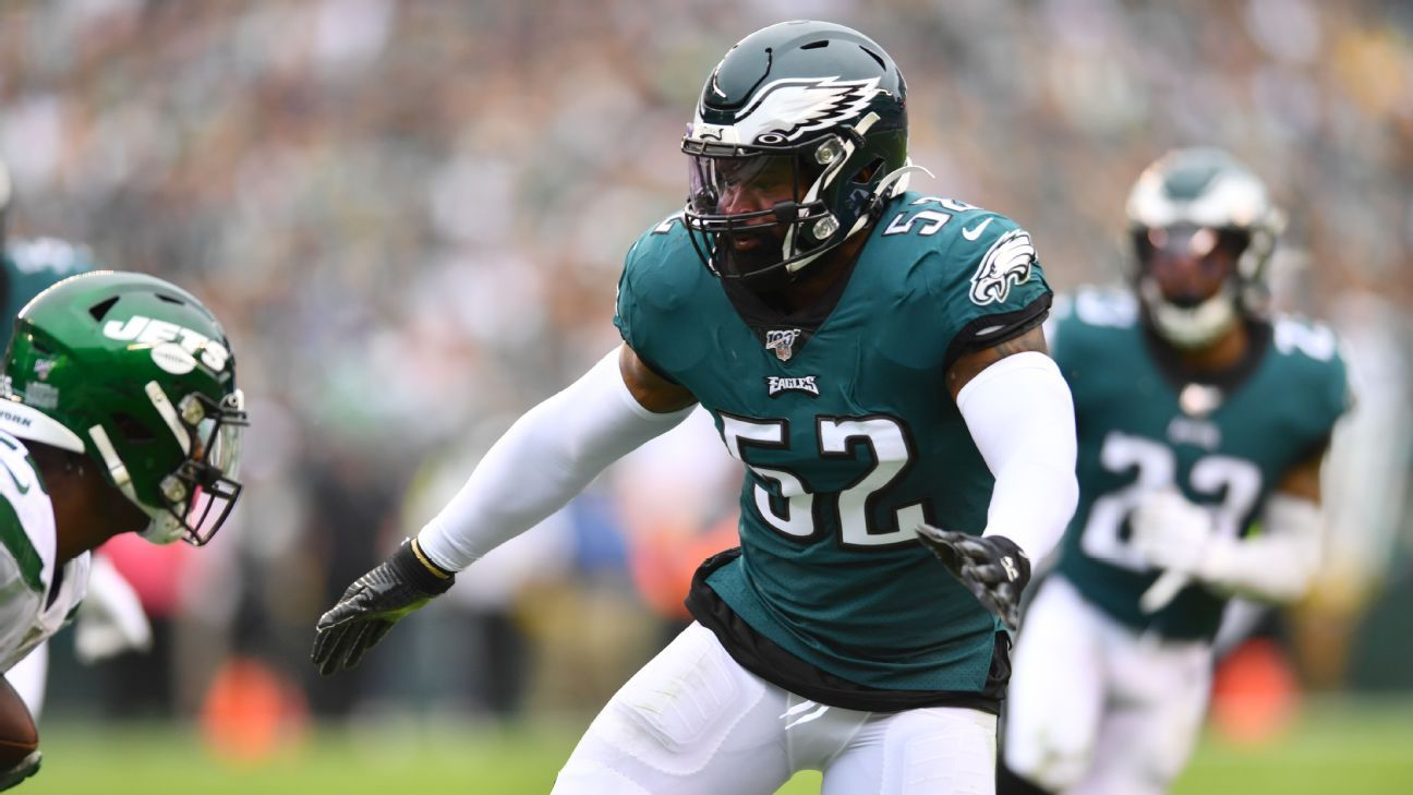 Source: Eagles releasing veteran linebacker Zach Brown
