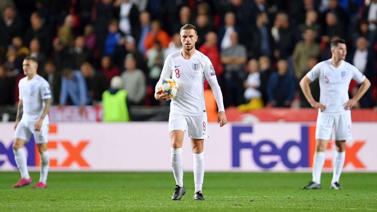 England's limited midfield will keep them from winning Euro 2020