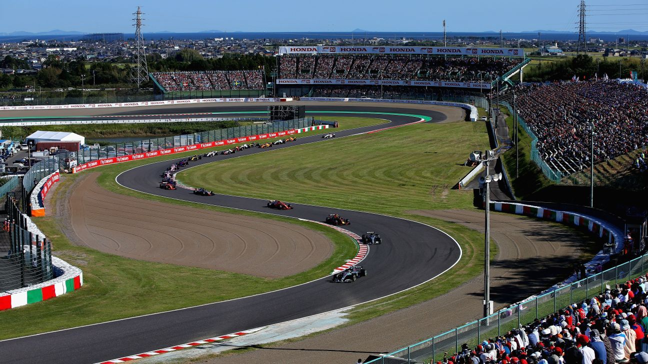 Suzuka's sector one: The happiest place in Formula One