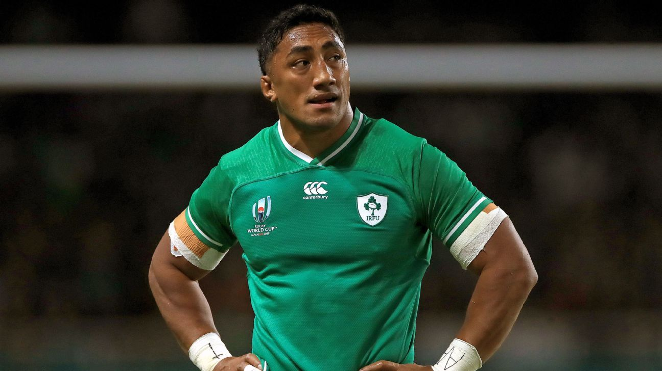 Ireland's red-carded Bundee Aki devastated his World Cup may be over - Joe Schmidt