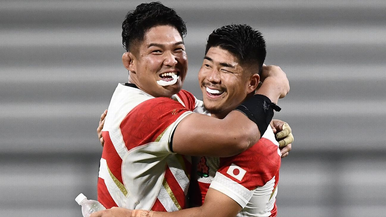 Japan's Rugby World Cup game against Scotland to go ahead