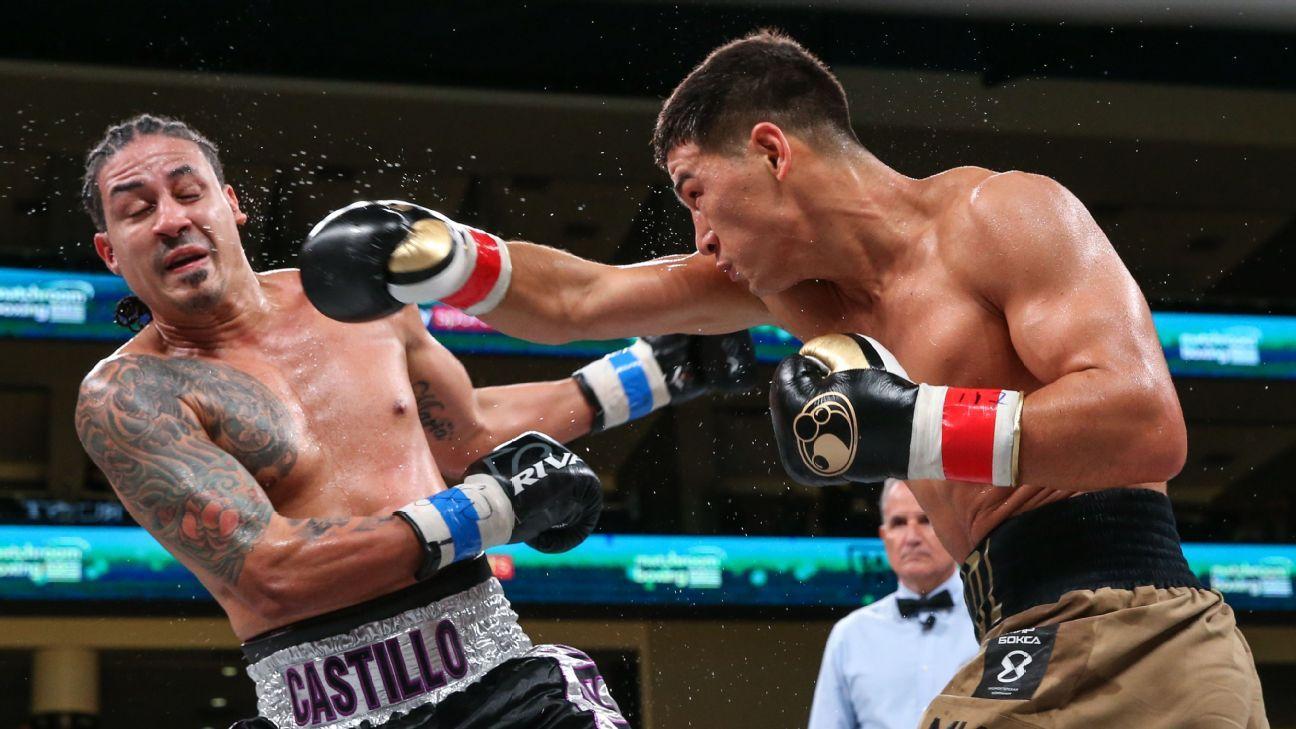 Bivol dominates Castillo in one-sided victory, retains 175-pound title