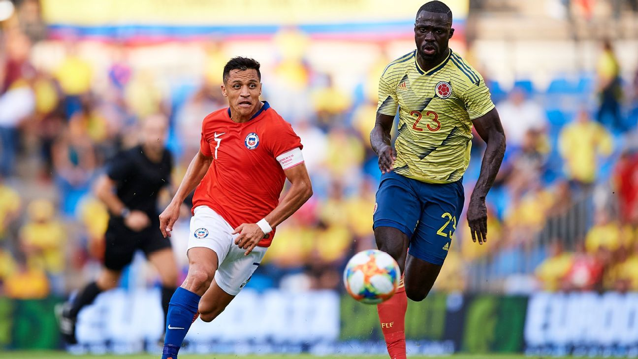 Alexis Sanchez back at Inter after suffering ankle injury with Chile