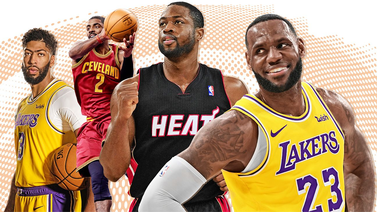 Ranking the best teammates LeBron James has ever had